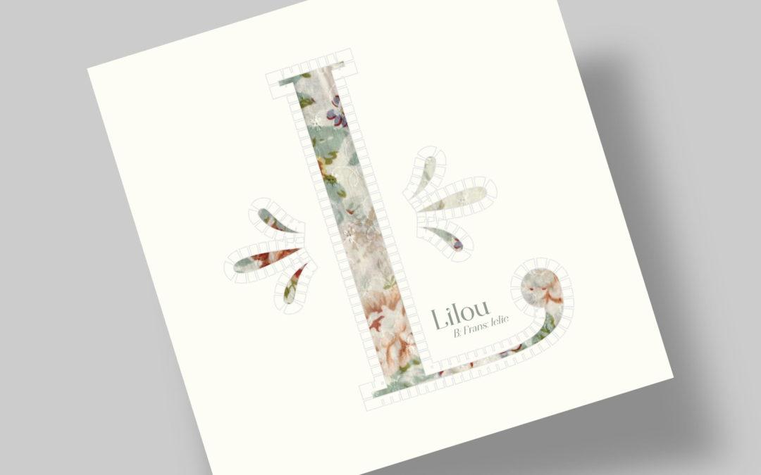 Geboortekaartje – Lilou de Vugt